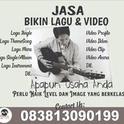 JASA BIKIN LAGU DAN VIDEO (26178679) di Kota Tangerang Selatan