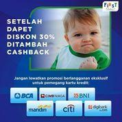First Media - Promo Cashback + Diskon 30% (26179567) di Kota Jakarta Selatan