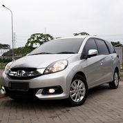 Honda Mobilio E CVT Matic 2015 Silver KM 70.000 Tgn 01 TERAWAT (26182623) di Kota Tangerang
