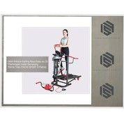 Treadmill Manual 6 Fungsi ( COD Salatiga ) (26182919) di Kota Salatiga
