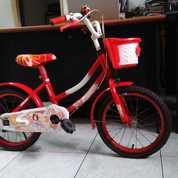 Sepeda Anak Michel Dengan Keranjang, Mulus Jarang Dipakai Gan (26183595) di Kota Semarang