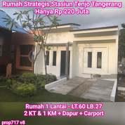Rumah Tanpa Bi Checking Strategis Dekat Stasiun Tenjo Bogor (26184503) di Kota Jakarta Selatan