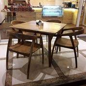 Meja Kursi Restoran Cafe Kekinian (26185619) di Kota Bandung