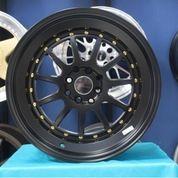 Velg Mobil Racing HSR EDO JD110 Ring 17 Untuk Jazz Yaris Livina Mazda2 (26188567) di Kota Semarang
