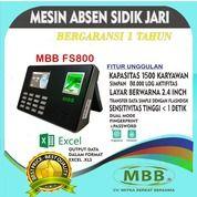 Promo Lebaran Mesin Absensi Fingerprint Standalone MBB FS800 (26189271) di Kota Surabaya