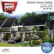 Sentul City Rumah Green Valley Ageratum 2BR PROMO (26193783) di Kab. Bogor