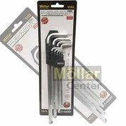 MOLLAR BALLPOINT Kunci L Panjang 9 Set Extra LONG Brand : Mollar Tipe : Ballpoint Isi : 9 Pcs (26199363) di Kota Magelang