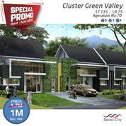 Sentul City Rumah Green Valley Ageratum 3BR PROMO (26201787) di Kab. Bogor