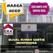 Rumah Di Grand Menteng Indah Panglima Denai Menteng 7 Medan Denai Dekat Tol Belmera Nego Bisa Kpr (26201879) di Kota Medan
