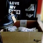 "Dr. MARTEN Shoes 3hole Blackdoff 41"" (26206279) di Kota Depok"