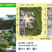 Sentul City Rumah Green Valley Ageratum 3BR+1 PROMO (26209887) di Kota Bogor