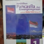 Pendidikam Pancasila Dan Kewarganegaraan 1 Untuk SMA/MA Kelas X Oleh Yuyus Kardiman, Dkk. (26210351) di Kab. Bandung