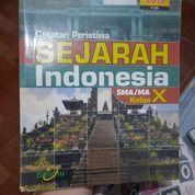Buku Pelajaran Catatan Peristiwa Sejarah Indonesia SMA/MA Kelas X Oleh Matroji Penerbit Bailmu (26210571) di Kab. Bandung