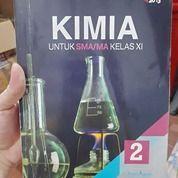 Buku Pelajaran Kimia 2 Untuk SMA/MA Kelas XI Oleh Unggul Sudarmo Penerbit Erlangga Kurikulum 2013 (26210723) di Kab. Bandung
