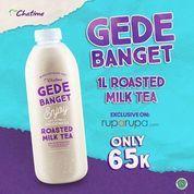 Chatime 1L Roasted Milk Tea Only 65k (26222259) di Kota Jakarta Selatan