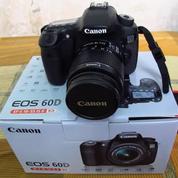 Kamera Canon Dslr Eos 60d Kit 18-55 (26238063) di Kota Bandar Lampung