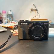 Canon PowerShot G7 X Mark II - Kamera Vlog Youtuber Masih Mulus Dan Fullset Box (26239923) di Kota Jakarta Selatan
