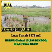 Tanah Ahmad Yani Arteri Supadio Pontianak, Kalimantan Barat (26242491) di Kota Pontianak