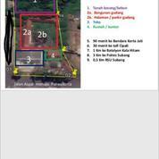 Tanah Matang Siap Bangun Dekat RSU Subang Murah (26243303) di Kota Bandung