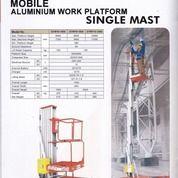 Skylift Manlift Genielift Tangga Elektrik Hidrolik Scissor Lift Single Mast Dan Dual Mast (26255163) di Kab. Tangerang