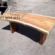 Furnitur Meja Makan Kayu Trembesi Furniture Suar Code: Y23G (26260475) di Kab. Purwakarta