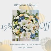 Nomadic Fleur Opening Promo 15% Off (26261683) di Kota Jakarta Selatan