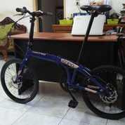 Sepeda Lipat United Cora Alloy,Mulus Jarang Dipakai Gan (26268015) di Kota Semarang