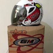 Helm Anak GM Teen Putih SR Series Hello Kitty Seri 2 White (26268203) di Kab. Tangerang