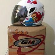 Helm Anak GM Teen Putih SR Series Hello Kitty Seri 1 White (26268895) di Kab. Tangerang
