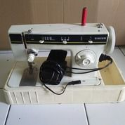 Mesin Jahit Zigzag Singer 968 Putih Semi Portable Plus Box Case Dan Dinamo (26272391) di Kota Bandung