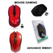 MOUSE WIRELESS ADVANCE WM501 (26273391) di Kota Surabaya