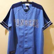 Jersey Yankess Major League Baseball Warna Biru (26275355) di Kota Pekanbaru