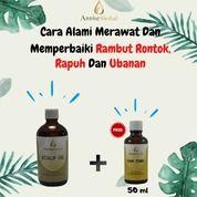 Cara Alami Merawat Dan Memperbaiki Rambut Rontok, Rapuh Dan Ubanan (26278583) di Kota Tangerang