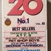 Kaset 20 No, 1 Best Seller Vol. 8 (26290487) di Kota Yogyakarta
