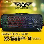 Armageddon AK666 FX - Gaming Keyboard (26292127) di Kota Surakarta
