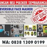 MASKER KAIN (Double Face) (26300055) di Kota Tangerang Selatan