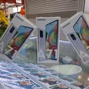 Samsung A71 Putih & Hitam - Ram 8 Rom 128 Gb Garansi Resmi Sein 1 Tahun (26339899) di Kab. Mamasa
