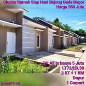 Rumah Cluster Bojonggede Tajurhalang (26346091) di Kota Jakarta Selatan