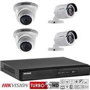 Paket Cctv Online Hikvision Turbo HD 2MP 4 Channel Komplit Tinggal Pasang (26350367) di Kota Jakarta Pusat
