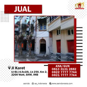 Ruko Strategis Jalan Karet (26355667) di Kota Surabaya