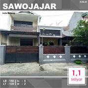 Rumah 2 Lantai Luas 139 Di Bratan Sawojajar 1 Kota Malang _ 292.20 (26358671) di Kota Malang