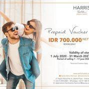 Harris Vertu Harmoni Prepaid Vocuher IDR 700.000 Net (26379855) di Kota Jakarta Pusat