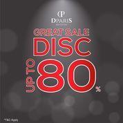 Dparis Great Sale Disc. Up To 80% (26389471) di Kota Jakarta Selatan