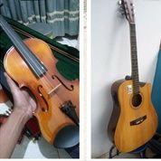 BU Sepaket Biola Skylark 3/4 Dan Gitar Custom (26391803) di Kota Depok