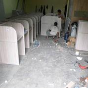 Meja Partisi Kantor Lurus Hadap 1 Set 18 Orang (26397255) di Kota Semarang