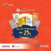 Gramedia Promo Buku Self Improvement Disc. 25% (26398567) di Kota Jakarta Selatan