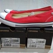 Sepatu Converse Chuck Taylor All Star Dainty Ballerina Red (26417395) di Kota Bandung