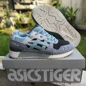 Sepatu Asics Gel Lyte III Blue Surf (26417667) di Kota Bandung
