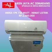 Termurah AC Midea 1 PK Low Watt R32 Model Baru Bergaransi (26425739) di Kota Semarang