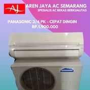 Gokil AC Panasonic 3/4 PK Siap Pasang Semarang (26426619) di Kota Semarang